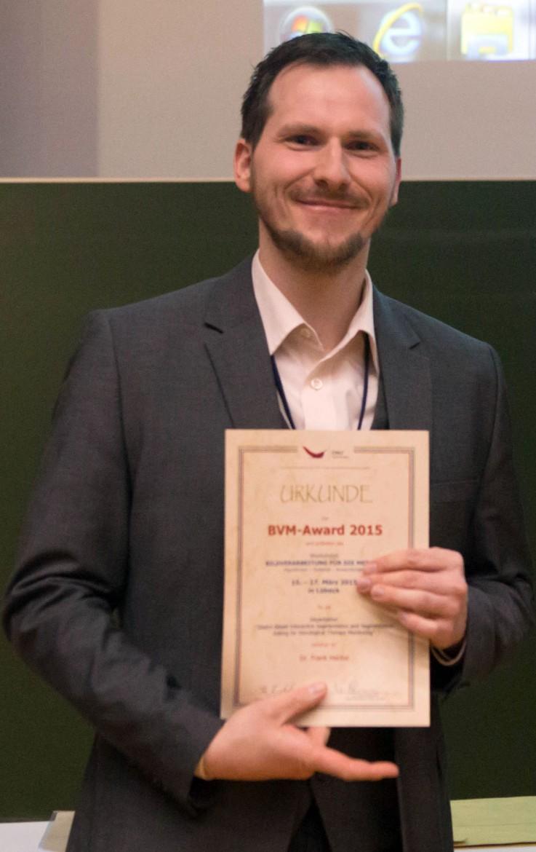 Frank Heckel mit BVM-Award