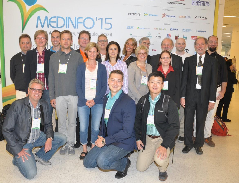 Teilnehmer aus Deutschland auf der MEDINFO 2015