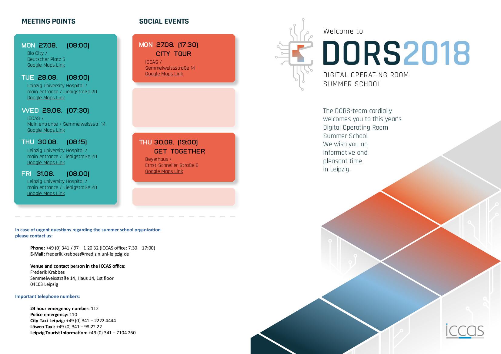 DORS 2018 Programm